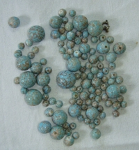 Sada 111 ks korálků, různé velikosti