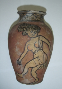 Hliněná váza