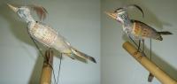 Dřevěný ptáček