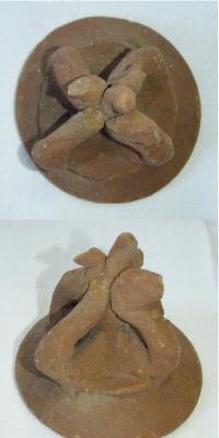 Pravděpodobně víčko, keramika