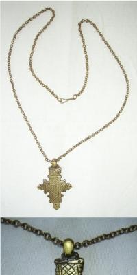 Řetízek s přívěskem - křížek