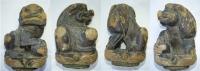 Drak vyřezaný ze dřeva, Čína