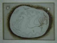 Přívěsek ze skla mořští koni