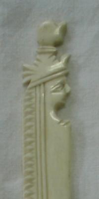 Nůž na dopisy ze slonovinové kosti