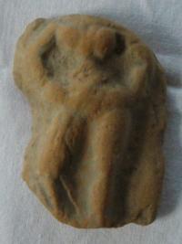 Střep, postava ženy bez hlavy, Egypt