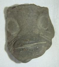 Soška - zvířecí hlava, Ekvádor